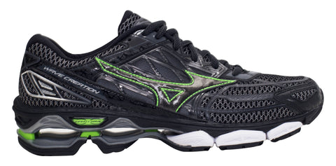 Mizuno Wave Creation 19 - Black/Green Gecko/Dark Shadow