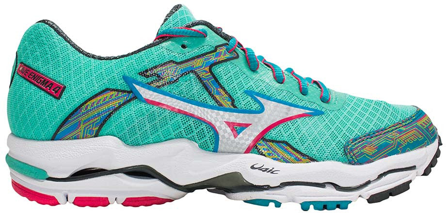 Mizuno Wave Enigma 4 - Florida Keys/Silver/Rogue Red