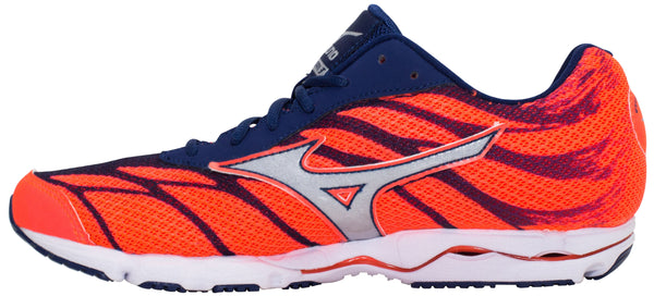 cheap for discount c6cde 89aaa Mizuno Wave Hitogami 3 - Fiery Coral/Glacier Grey/Blue Depths
