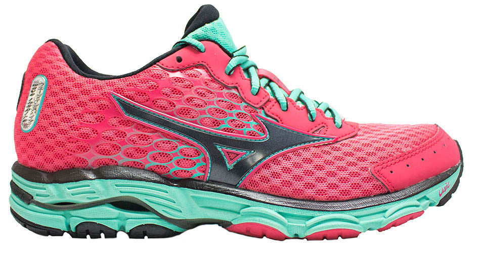 best sneakers f75d5 945d9 Mizuno Wave Inspire 11 - Red/Black/Turquoise