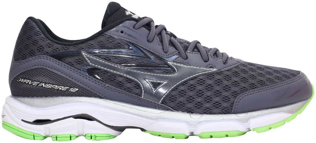 Mizuno Wave Inspire 12 - Periscope Grey/Green Gecko
