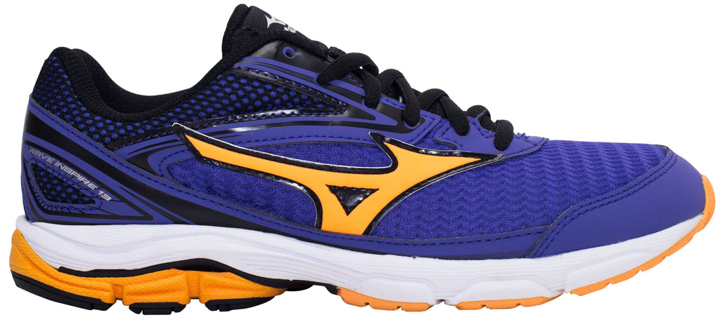 Mizuno Wave Inspire 13 Jr - Liberty/Orange Pop