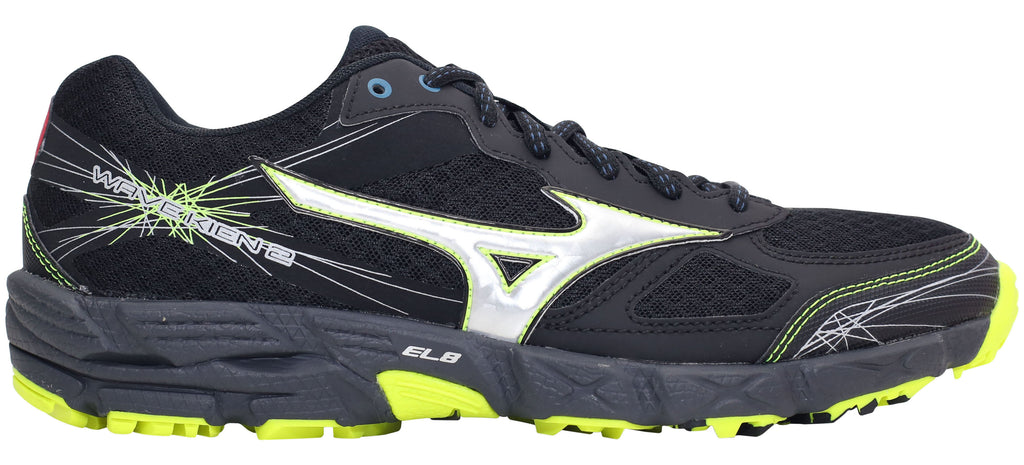 Mizuno Wave Kien 2 - Black/Silver/Yellow