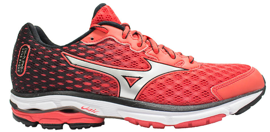 Mizuno Wave Rider 18 - Red/Silver/Black
