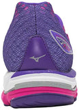 Mizuno Wave Rider 19 - Fuschia/Purple/Silver