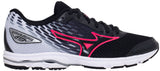 Mizuno Wave Rider 19 Jr - Black/Silver