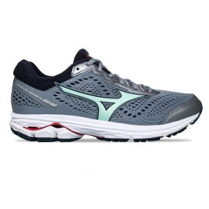 Mizuno - Wave Rider 22 (D) - Tradewinds Green