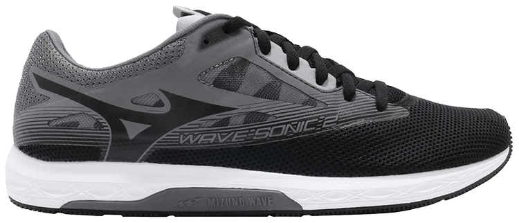 Mizuno - Wave Sonic 2 - Black/Dark Shadow