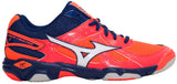 Mizuno Wave Twister 4 - Fiery Coral/Blue Depths