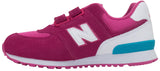 New Balance Kids 574 - Pink/White