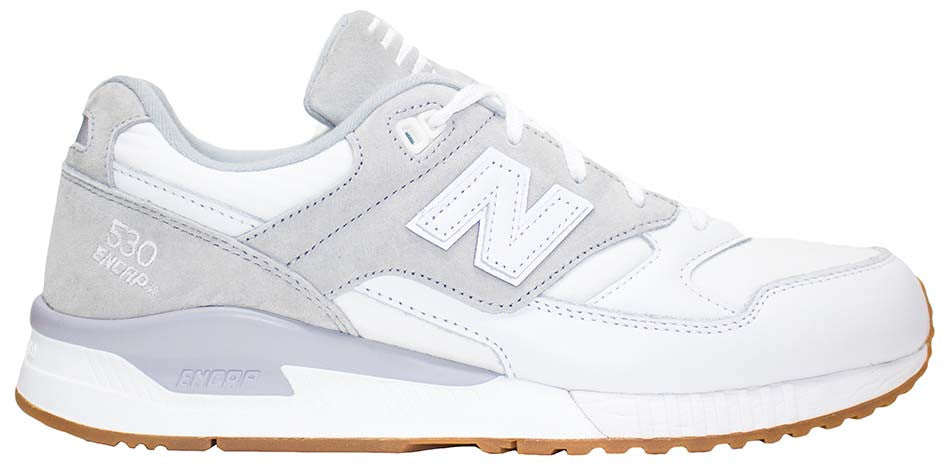 the best attitude 1abc4 97ea7 New Balance 530 - White/Silver