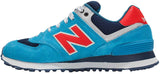 New Balance 574 - Red/Blue