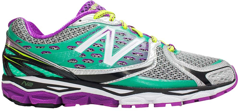 New Balance 1080v3 (D) - Silver/Waterfall/Purple