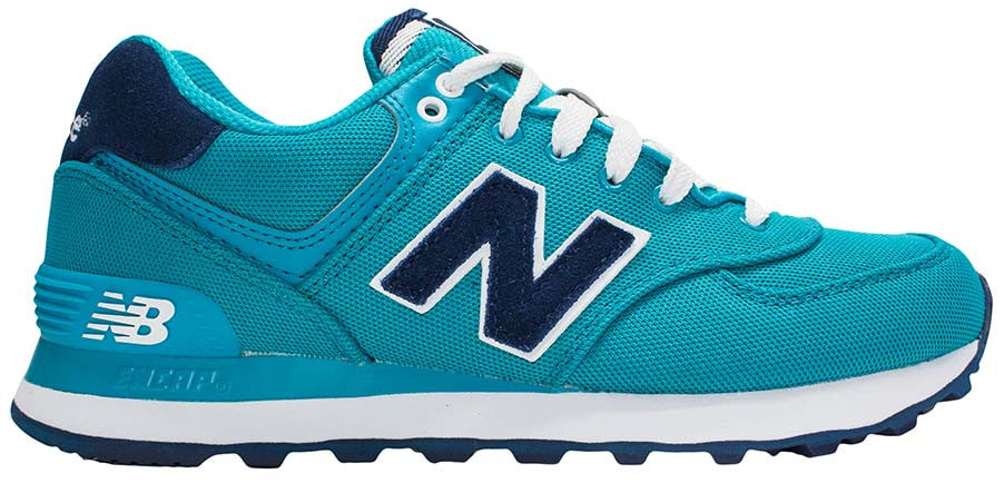 New Balance 574 - Teal/Navy