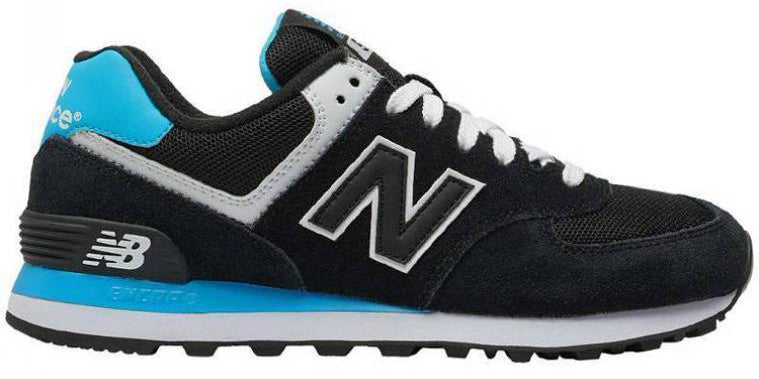 New Balance 574 - Black/Blue