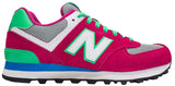 New Balance 574 - Pink/Green/Blue