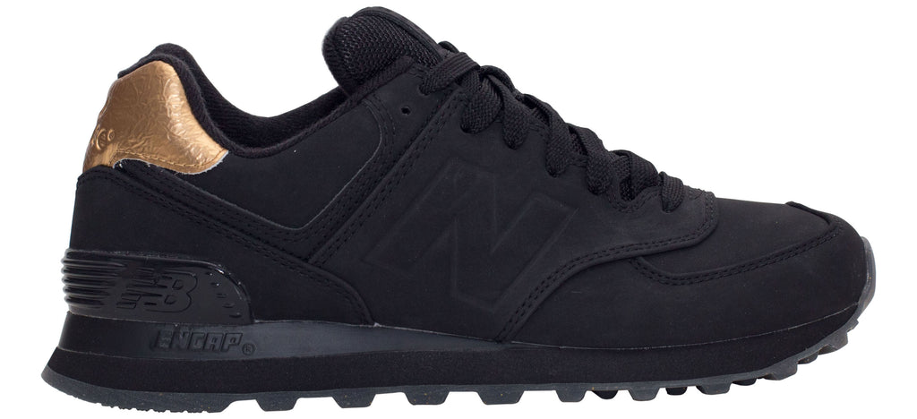 c72d8c76cd37e Just Sport | New Balance 574 Molten Metal - Black/Gold