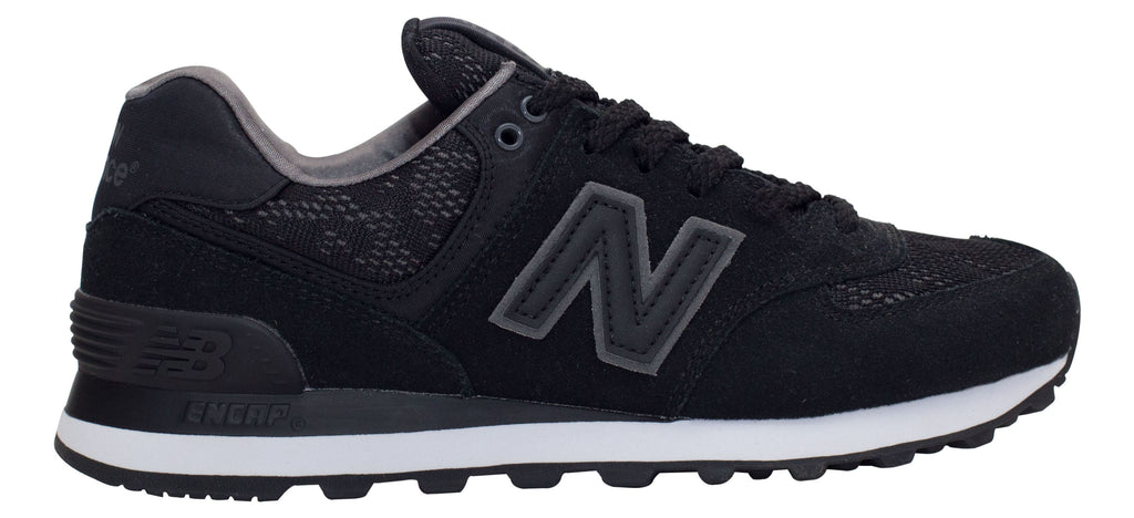 huge discount f2c81 554fe New Balance 574 - Black/Castlerock