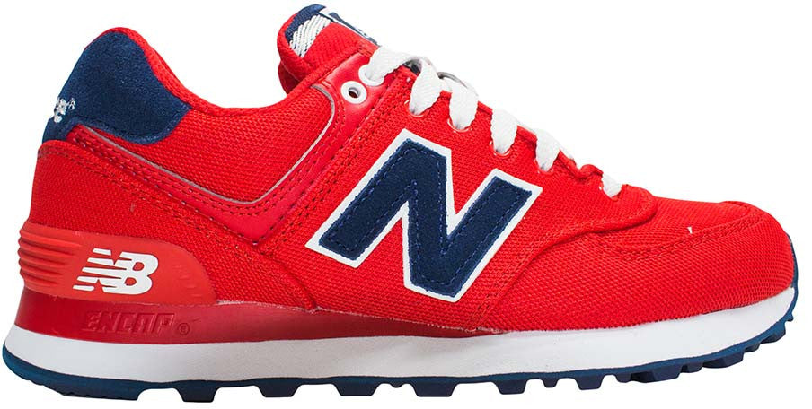 New Balance 574 - Red/Navy