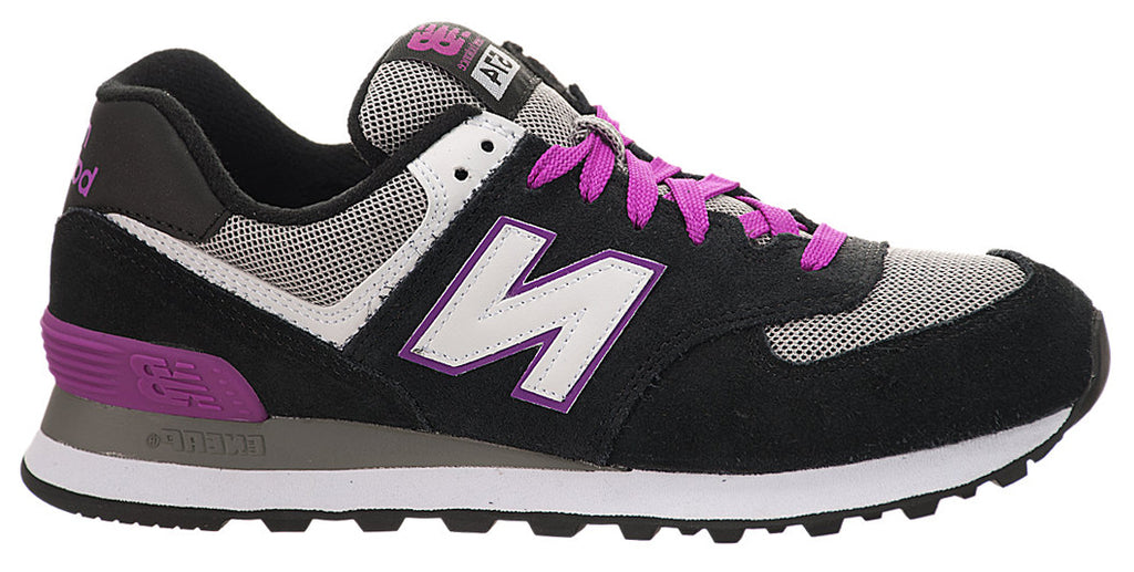 New Balance 574 - Black/Purple