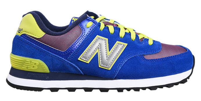New Balance 574 - Blue/Yellow