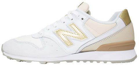new balance wr996ie beige white & gold