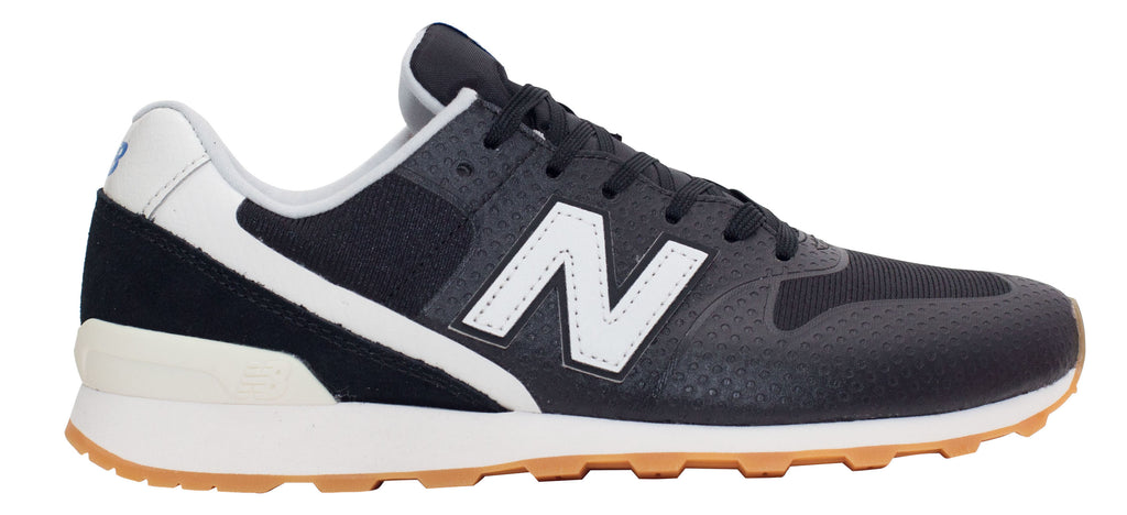 New Balance 996 Re-Engineered - Black/White/Gum