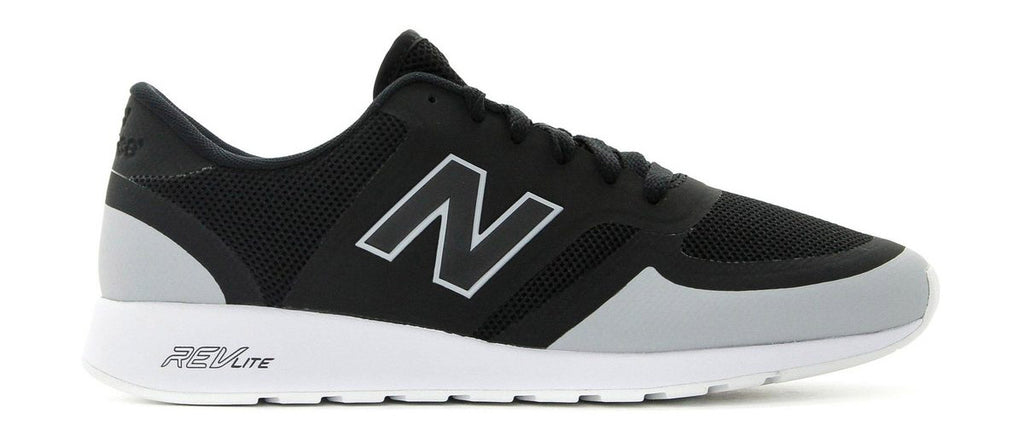New Balance 420 Rengineered - Black/Light Grey