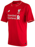 New Balance Liverpool SS Home 15/16 Jersey (Boys)