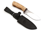 A&R, Gepard, Hunting Skinner, Fixed, 95X18 Stainless, Karelian Birch