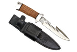 A&R Tactical Knife KORSAR,  Birch Bark,  95x18 Stainless