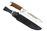 A&R Big Hunting Knife SOKHATY (MOOSE),  Birch Bark,  95x18 Stainless