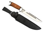 A&R Big Hunting Knife SOKHATY (MOOSE),  Karel Birch,  95x18 Stainless
