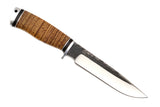 Hunting Knife Prospector-2 (X12MF, Birch bark, Duralumin)