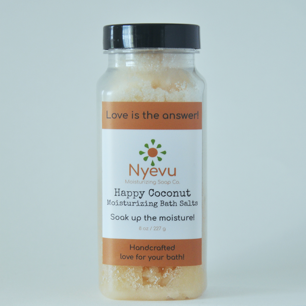 Happy Coconut - Moisturizing Bath Salts