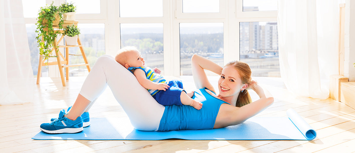 7 Ways to Work Out After Baby