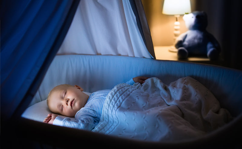 be consistent, how to get kids to sleep through the night
