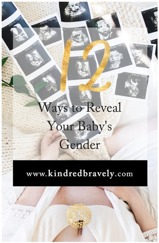 12 ways to reveal your baby's gender