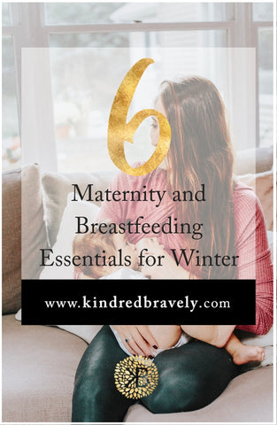 6 Maternity and Breastfeeding Clothing Essentials for Winter
