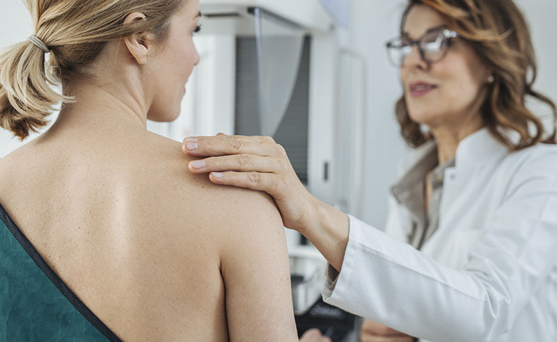 oncologist, well woman exam, breast exam