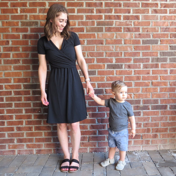 what to wear after a c-section, angelina gown, kindred bravely angelina
