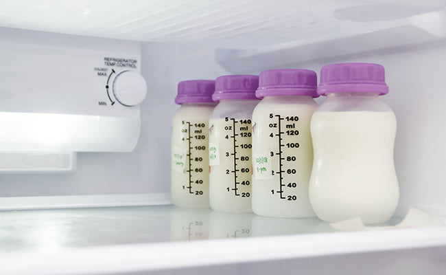 how long does breast milk stay fresh?