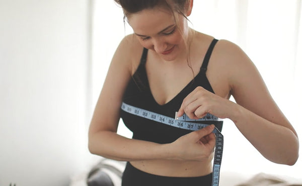 How do you measure for the right nursing bra fit?