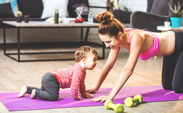 working out with baby, exercising after you have a baby