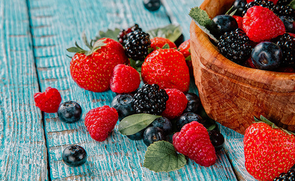 healthy foods for toddlers, berries