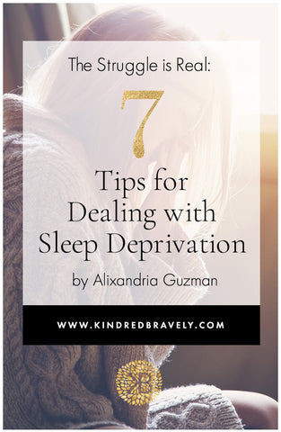 tips for dealing with sleep deprivation