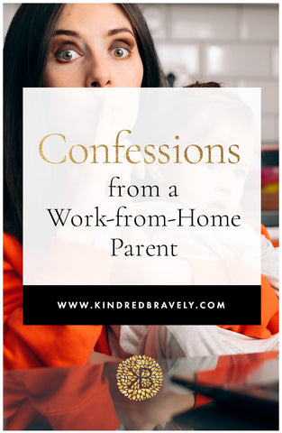 working from home, work-from-home mom