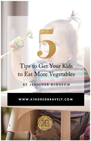 tips to get your kids to eat vegetables