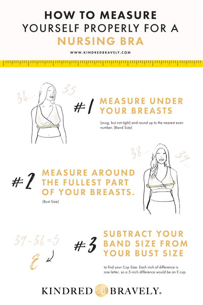 How to Measure Yourself for A Nursing Bra