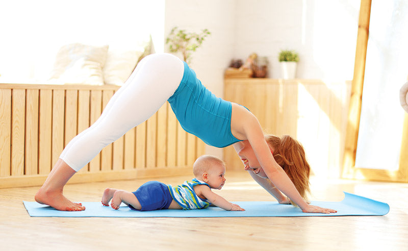 exercise for energy, postpartum exercise, working out with baby